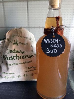 Waschnuss - ökologisches Waschmittel und Shampoo