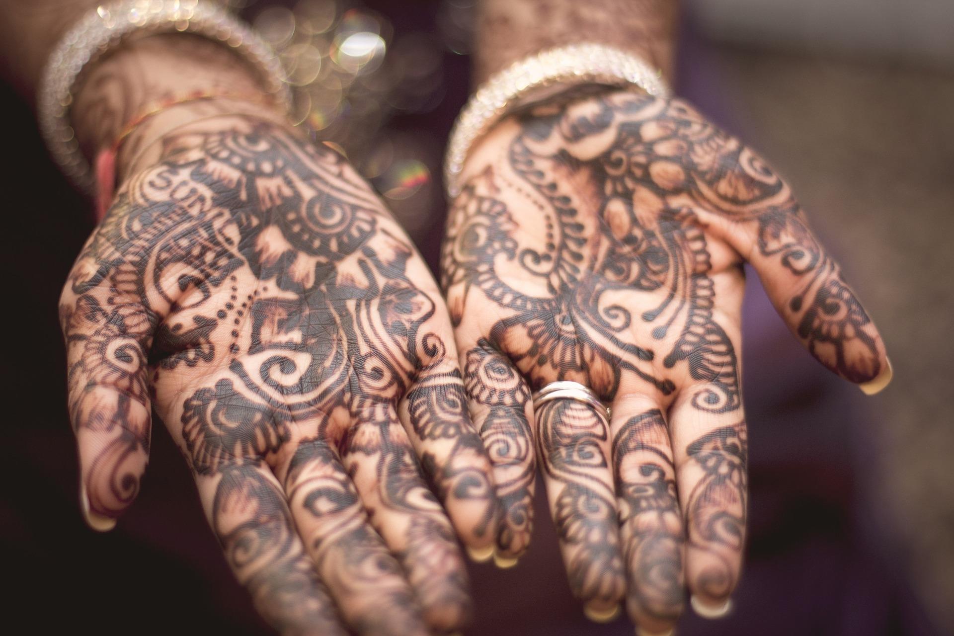 Henna Tattoo Muster - Mehndi